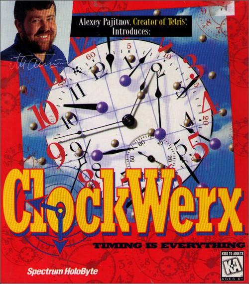 ClockWerx Mac CD-Rom Alexey Pajitnov PC Video Game