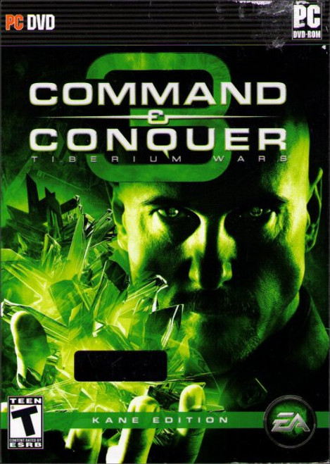 Command & Conquer 3 Tiberium Wars Kane Limited Edition PC Video Game