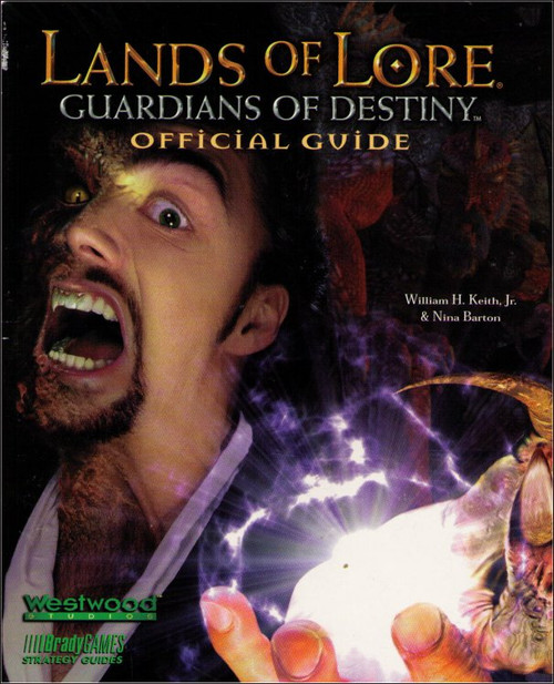 Lands of Lore Guardians of Destiny Brady Games Official Strategy Guide Book