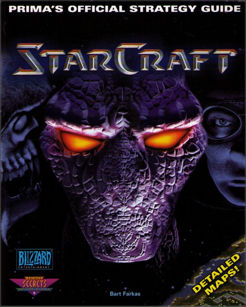 Starcraft Prima Games Official Strategy Guide Book