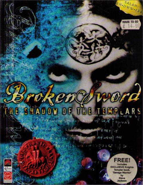 Broken Sword Shadow of The Templars Vintage PC Video Game
