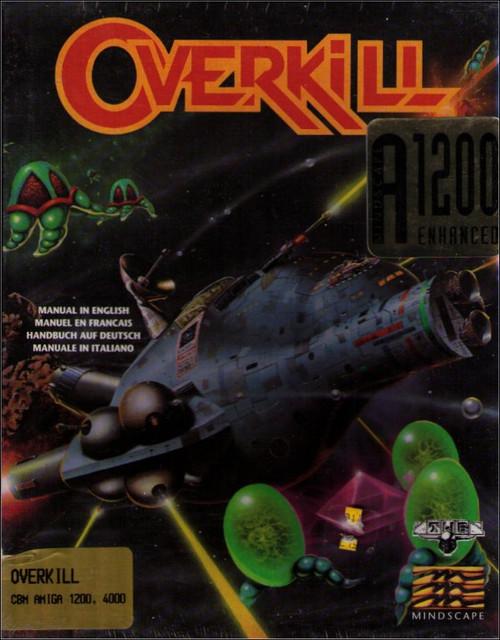 Overkill Amiga Commodore Mindscape Vintage Video Game
