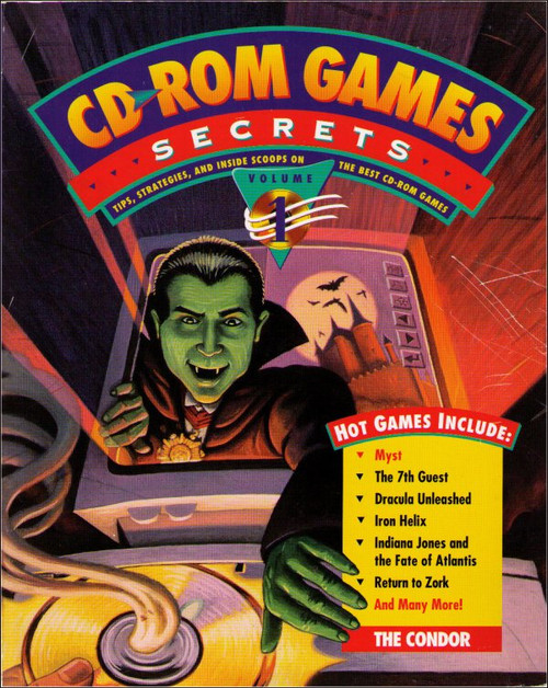 CD-ROM Games Secrets Volume 1 PC Windows Vintage Strategy Guide Book