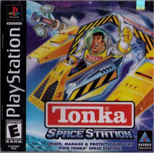 Tonka Space Station Playstation Video Game