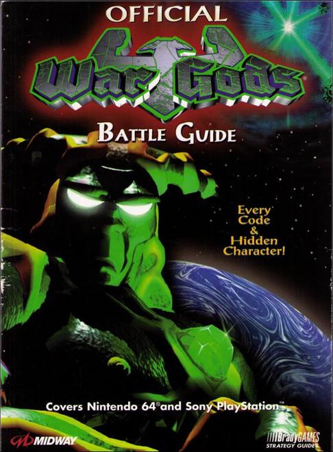 War Gods Battle Brady Games Official Strategy Guide Book