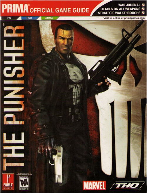 The Punisher Prima Games PC PS2 X-Box Official Strategy Guide Book