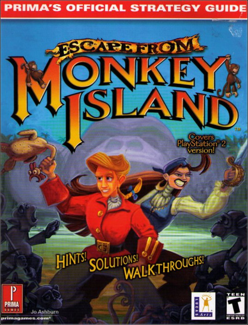 Escape From Monkey Island PlayStation Prima Official Strategy Guide Book