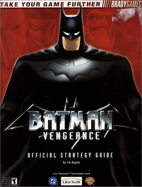 Batman Vengeance PlayStation 2 Official Strategy Guide Book