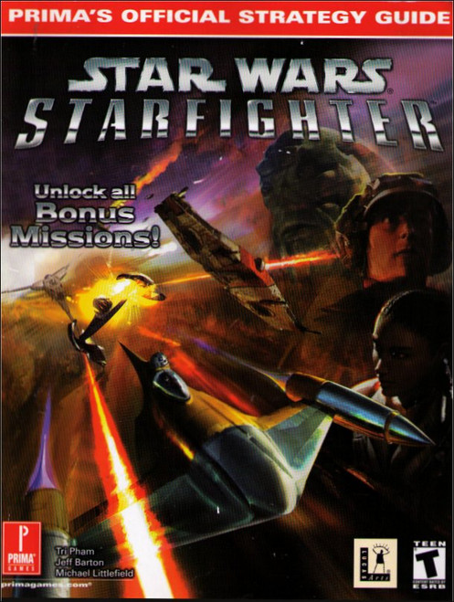 Star Wars Episode 1 Starfighter Prima Official Strategy Guide Book