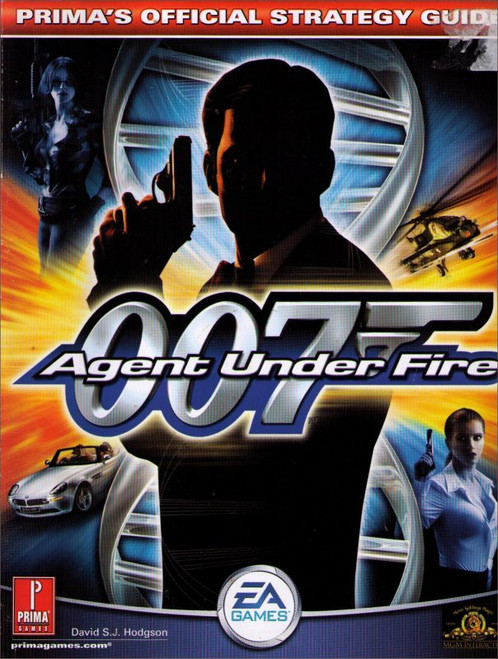 007 James Bond Agent Under Fire Prima Official Strategy Guide Book