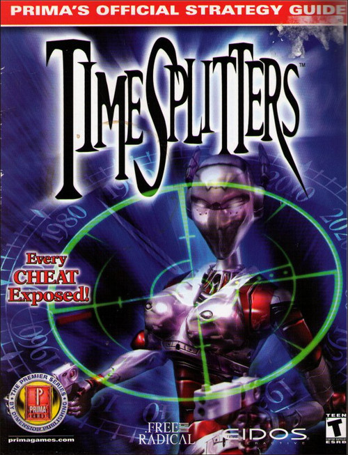 Timesplitters Prima Games Official Strategy Guide Book