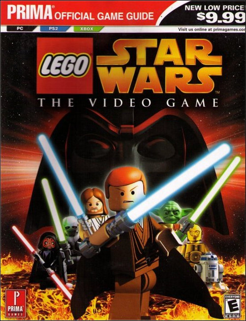 LEGO Star Wars Prima Official Strategy Guide Book