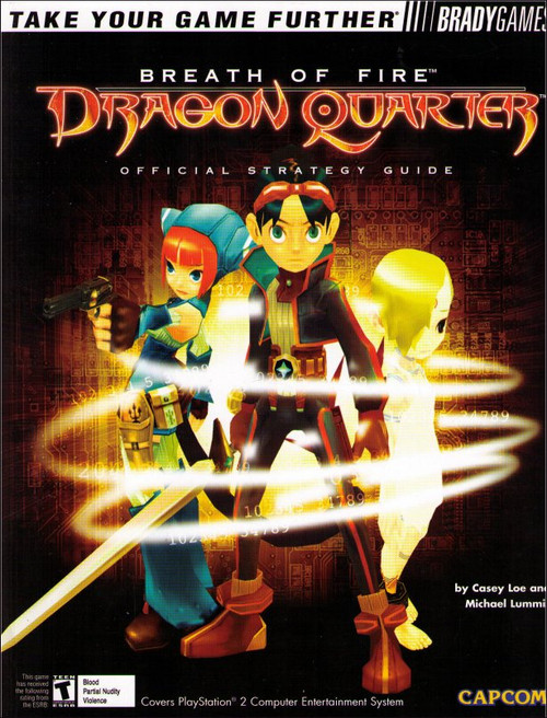 Breath of Fire Dragon Quarter Brady Games Official Strategy Guide Book