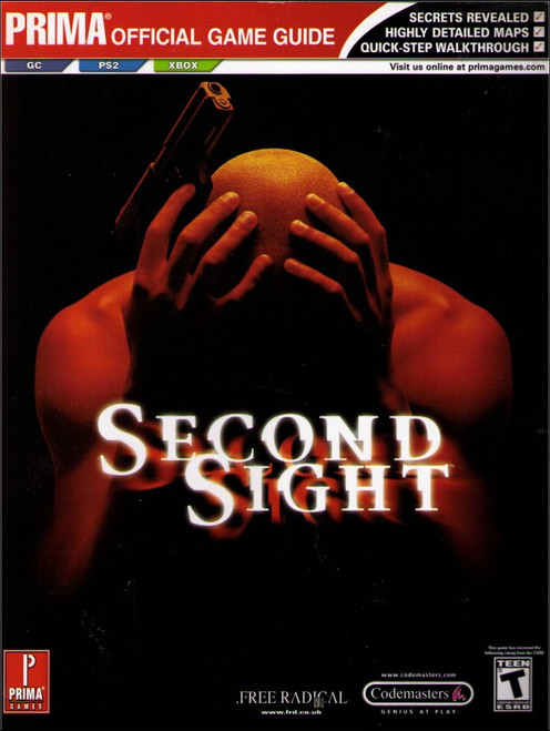 Second Sight Prima Games Official Strategy Guide Book