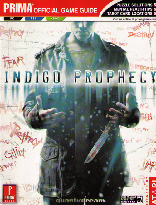 Indigo Prophecy Prima Official Strategy Guide Book