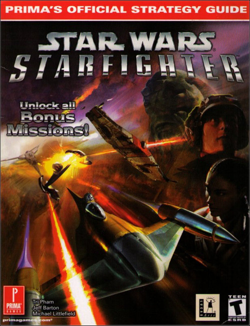 Star Wars Episode 1 Starfighter Prima Games Official Strategy Guide Book