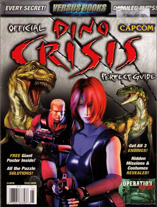 Dino Crisis Versus Perfect Official Strategy Guide Book
