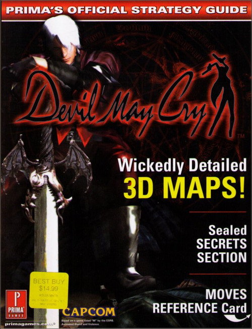 Devil May Cry Prima Games Official Strategy Guide Book (D)
