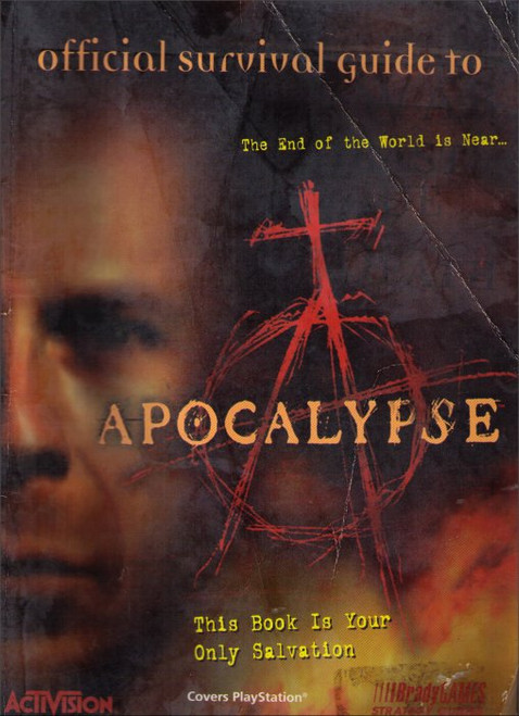 Apocalypse Brady Games Official Strategy Guide Book