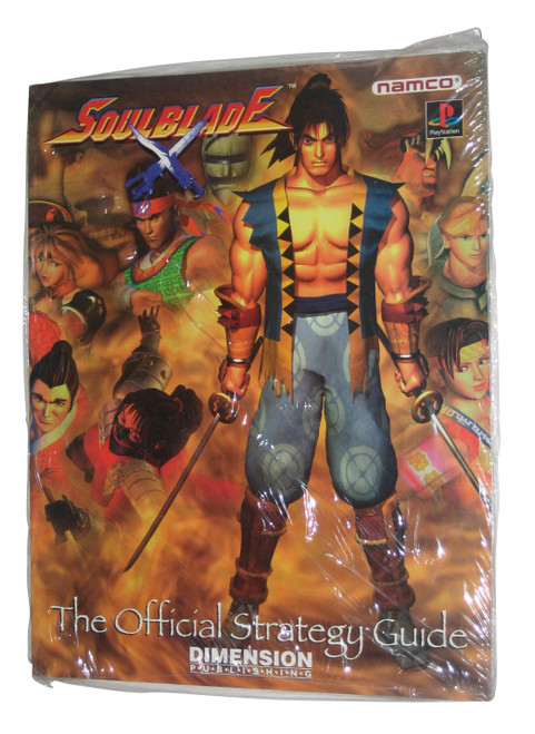 Soul Blade Dimension PlayStation Official Strategy Guide Book