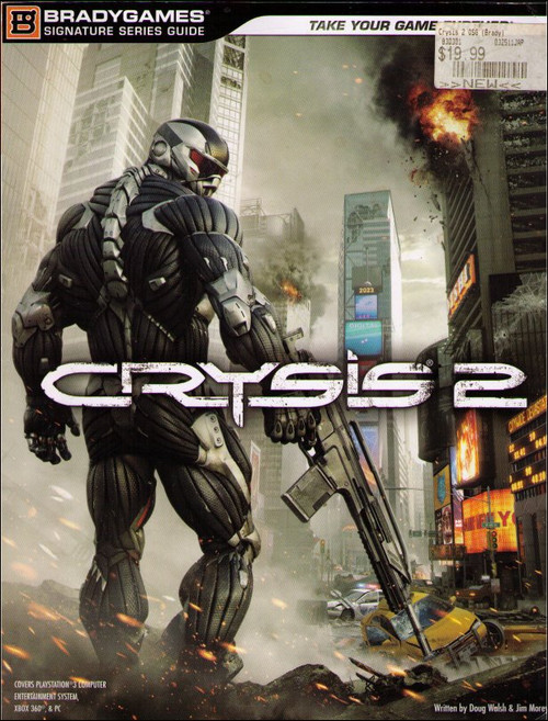 Crysis 2 Brady Games Official Strategy Guide Book