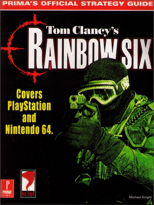 Tom Clancy's Rainbow Six Prima Games Official Strategy Guide Book