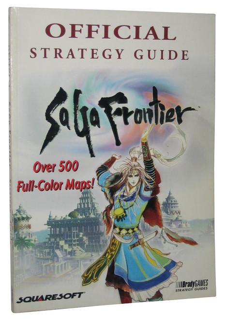 Saga Frontier Brady Games Official Strategy Guide Book