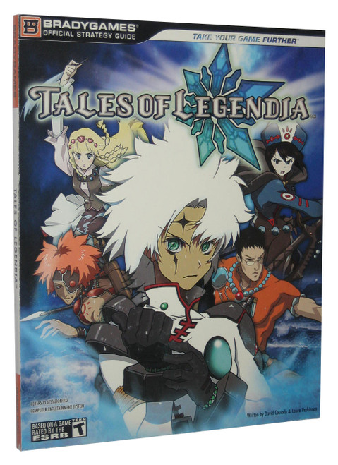 Tales of Legendia Brady Games Official Strategy Guide Book