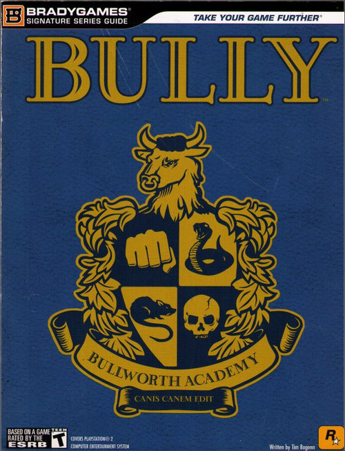 Bully Signature Series Brady Games Strategy Guide Book