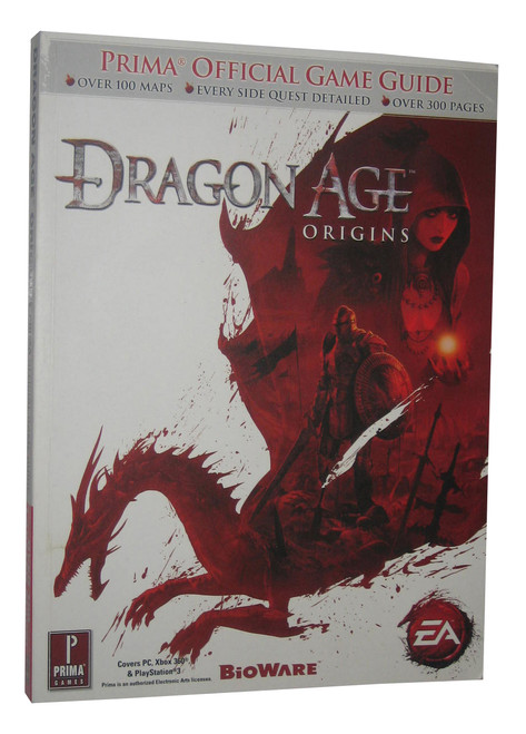 Dragon Age Origins Prima Games Official Strategy Guide Book