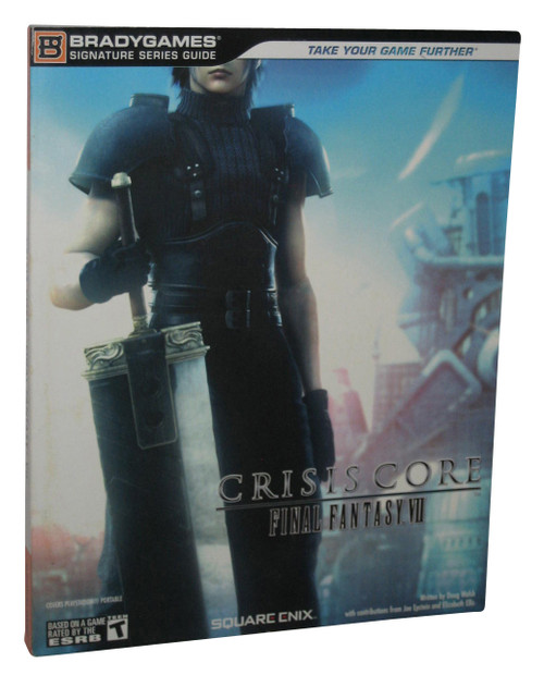 Final Fantasy VII Crisis Core Brady Games Official Strategy Guide Book