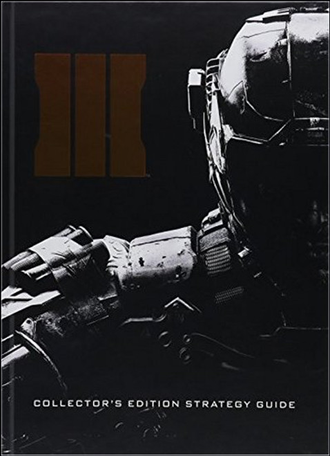 Call of Duty Black Ops III Collector's Edition Prima Strategy Guide Book
