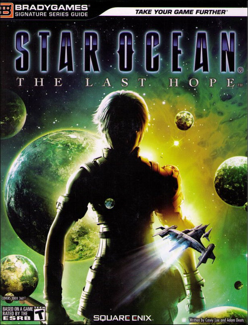 Star Ocean The Last Hope Signature Series Brady Games Strategy Guide Book