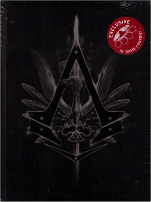Assassins Creed Syndicate Collectors Edition Guide Book w/ Angel Knuckles