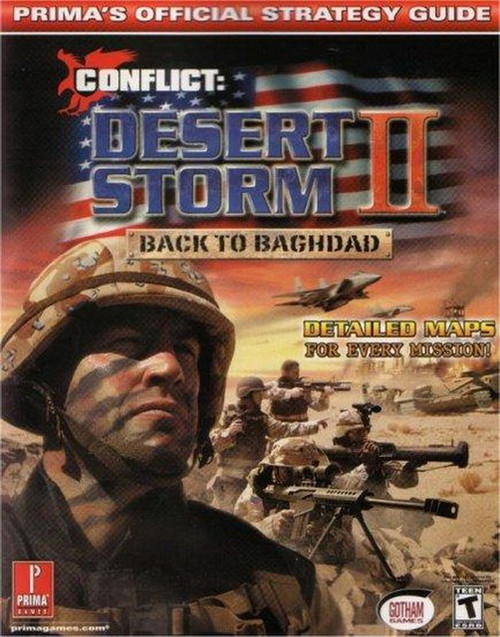 Conflict Desert Storm II Strategy Guide Book 54283