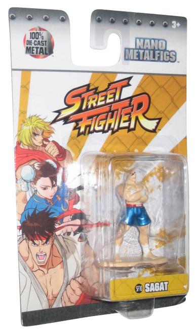 Street Fighter Sagat 1.5 Inch Diecast Nano Jada Metal Figure SF10