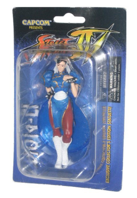 Street Fighter 4 Chun Li Statuette Exclusive Collector's Capcom 3.75 Inch Figure