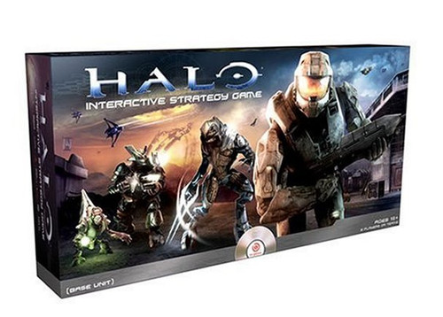 Halo Genius Products Interactive Strategy Board Game