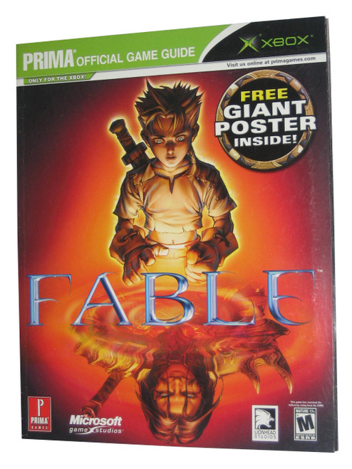 Fable Prima Games X-Box Official Strategy Guide Book