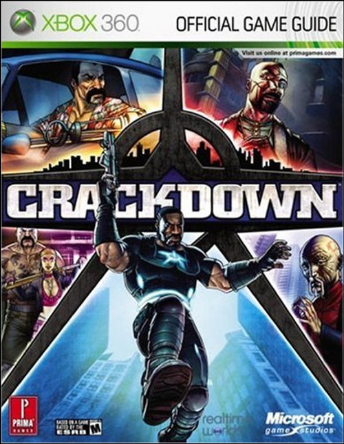 Crackdown Prima X-Box 360 Official Strategy Guide Book