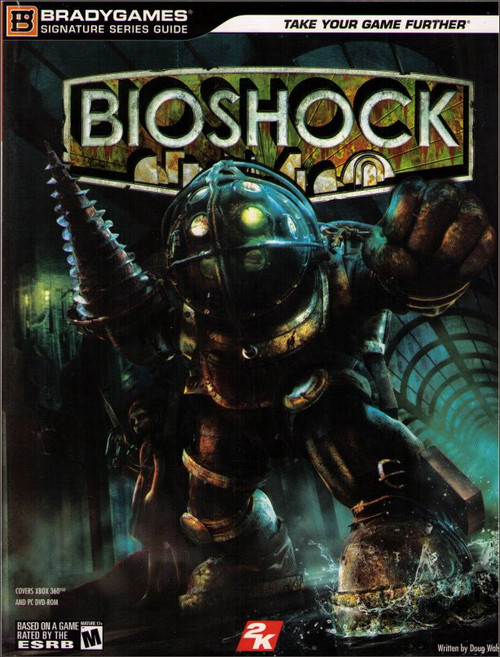 BioShock Signature Series Brady Games Official Strategy Guide Book