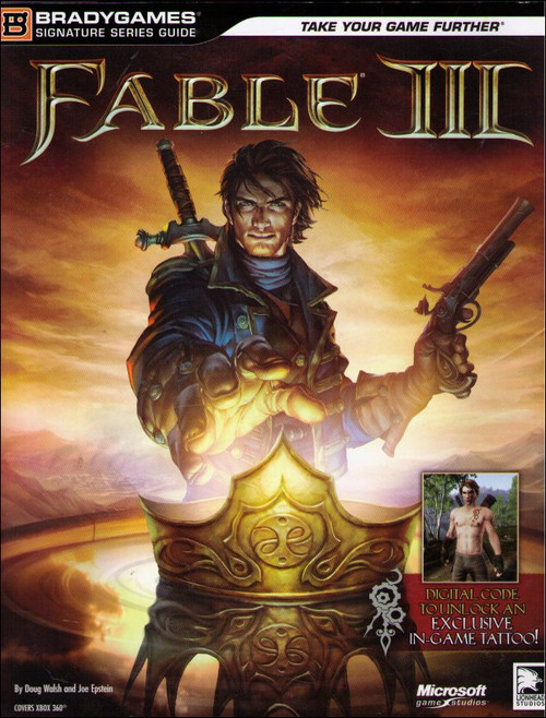Fable III Signature Series Brady Games Signature Strategy Guide Book