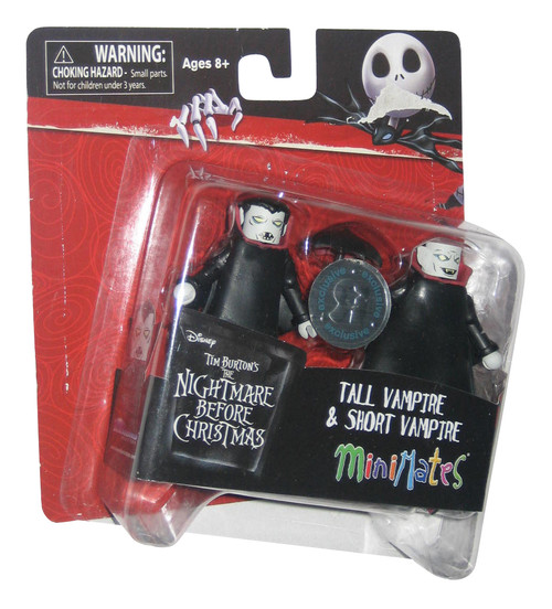 Nightmare Before Christmas Tall & Short Vampire Toys R Us Exclusive MiniMates Figure Set