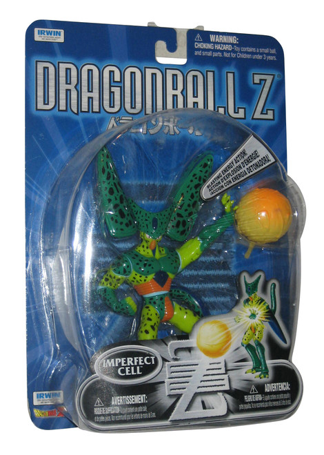 Dragon Ball Z Imperfect Cell Irwin Toys Action Figure