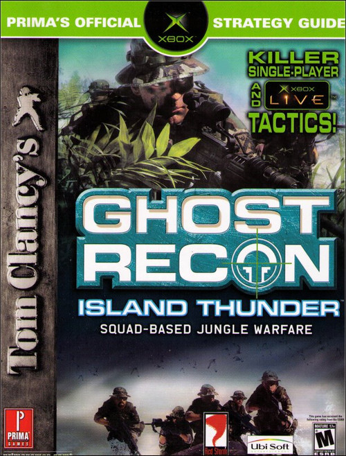 Tom Clancy's Ghost Recon Island Thunder Prima Official Strategy Guide Book