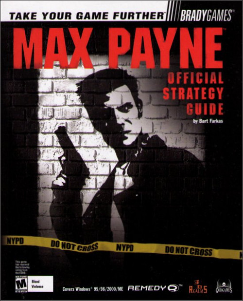 Max Payne PC Windows Brady Games Official Strategy Guide Book