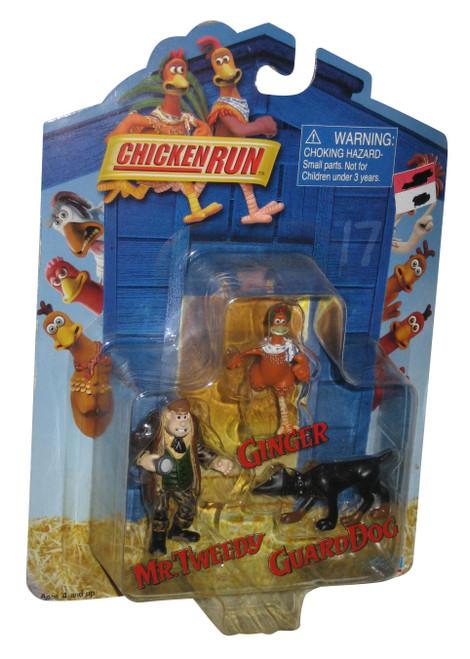 Chicken Run Guard Dog, Mr. Tweedy & Ginger (2000) Playmates Figure Set
