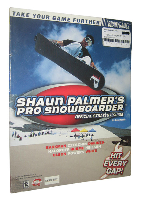 Shaun Palmer's Pro Snowboarder Official Strategy Guide Book