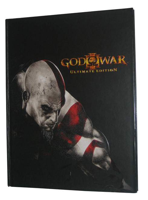 God of War III Ultimate Limited Edition Hardcover Official Strategy Guide Book