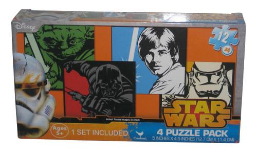 Star Wars Cardinal 4-Puzzle Disney Pack Set